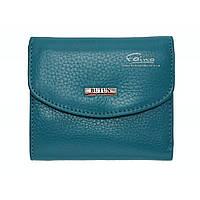 Женский кошелек кожаный бирюзовый Butun 584-004-050, фото 1