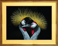 Схема для вышивки бисером СБ-216 пара птиц
