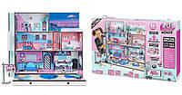 Огромный особняк для кукол ЛОЛ, 85 сюрпризов! Куклы ЛОЛ, мебель! L.O.L. Surprise! House with 85+ Surprises , фото 1