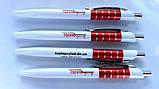 Печать на ручках, пластиковые ручки с логотипом, фото 7