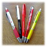Печать на ручках, пластиковые ручки с логотипом, фото 8