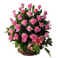 Корзина 29 розовых роз