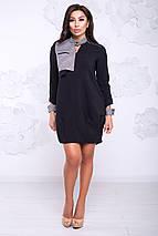 Женское платье с клетчатыми вставками (Флорида lzn), фото 2