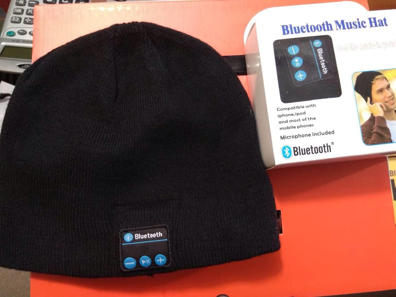 Наушники-шапка Bluetooth Mucic Hat