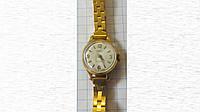 Женские наручные часы Чайка в позолоте