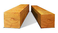 Брус деревянный, сухой 100х100, д. 4-4,5