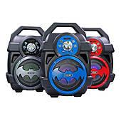 """Акустическая система бумбокс Bluetooth HY-01 """"Бэтмен"""" с микрофоном"""