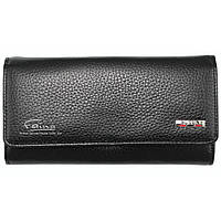 Женский кошелек кожаный черный Butun 592-004-001, фото 1