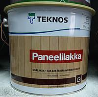 Лак PANEELILAKKA TEKNOS для деревянных панелей, 9л., фото 1