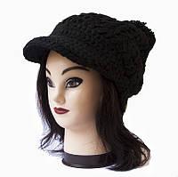 Женская вязаная шапка / кепка