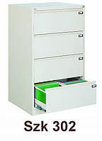 Металлический шкаф картотечный Szk 302