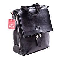 Мужская сумка кожаная черная BUTUN 3025-004-001, фото 1