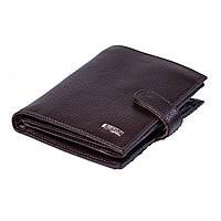 Мужской кошелек кожаный коричневый BUTUN 186-004-004, фото 1