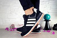 Женские кроссовки черные Adidas 10616