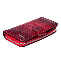 Женский кошелек кожаный красный BUTUN 636-008-006, фото 1