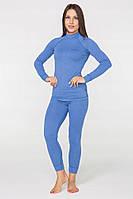 Комплект женского повседневного теплого термобелья RADICAL CUTE (ORIGINAL), голубой