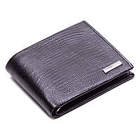 Кошелек зажим для денег кожаный черный Karya 0945-076, фото 1