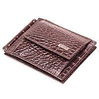 Зажим для денег кожаный коричневый Butun 247-002-004, фото 1