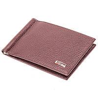 Кожаный зажим для денег коричневый  Butun 250-004-004, фото 1