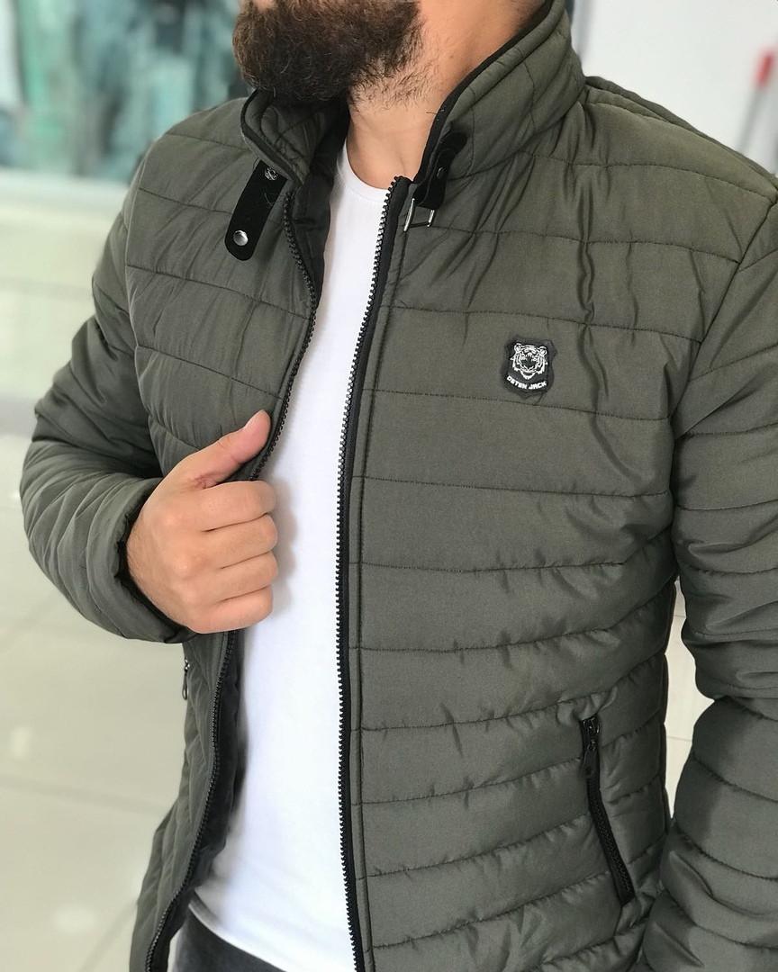 Новые Осенние Мужские Куртки Стеганные Турецкие Куртка Мужская Осенняя Хаки  Куртка Осіння Куртка Чоловіча M f538fae0f8a14