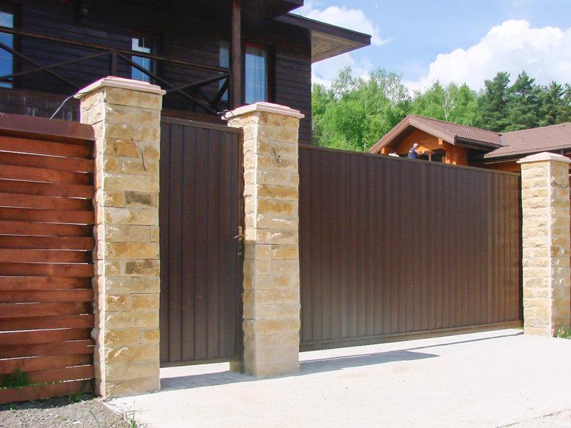 Откатные ворота DoorHan 4000 х 2000
