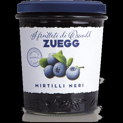 Варення з чорниці Zuegg Mirtilli Neri 50% змісту фруктів, 320 р.