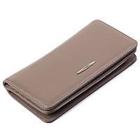Женский кошелек кожаный бежевый Eminsa 2151-18-17, фото 1