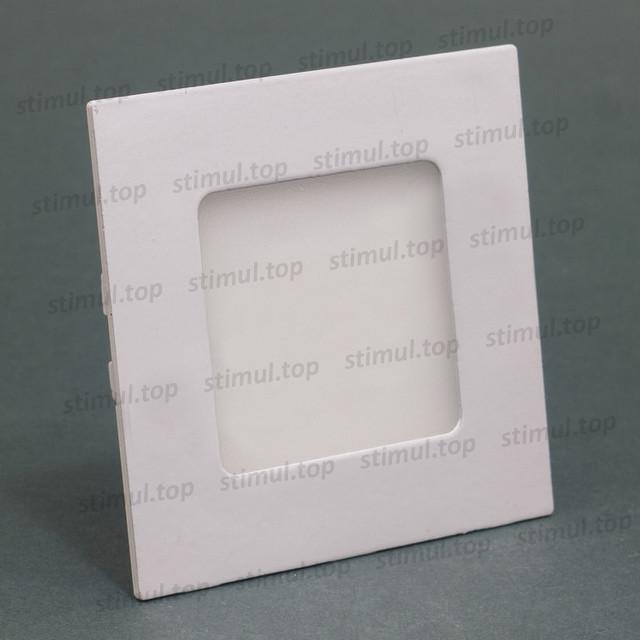 Светильник светодиодный точечный Down Light 3W Aluminum 3000K квадрат