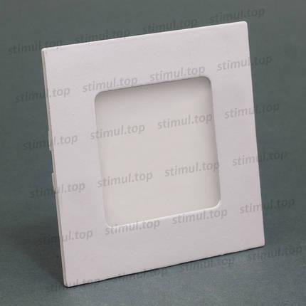 Светильник светодиодный точечный Down Light 3W Aluminum 3000K квадрат, фото 2