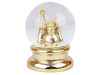 Снежный шар новогодний 10,6 см 919-184