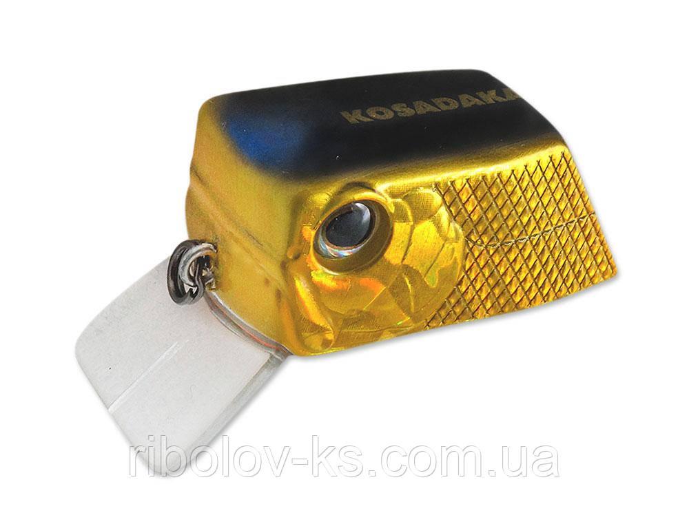 Воблер Kosadaka Cubix XS 35F (6,4г) HGBL