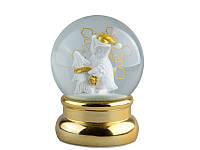 Снежный шар новогодний 13,6 см 919-188