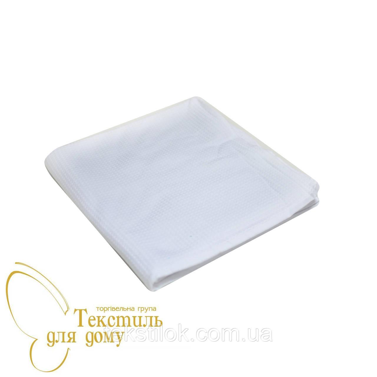 Полотенце банное 70*140, вафельное/махра, белый