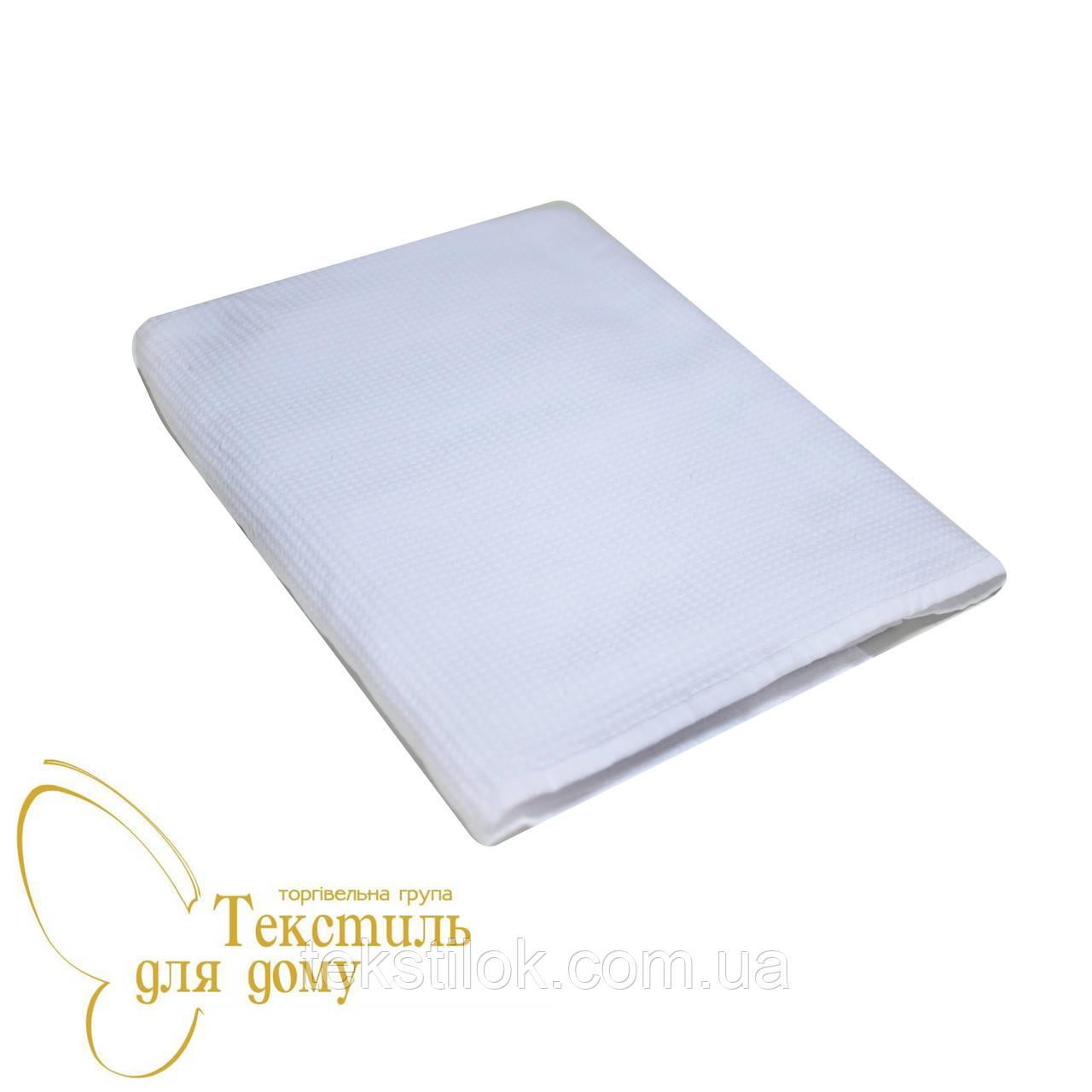 Полотенце для сауны 100*180, вафельное/махра, белый