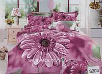 Комплект постельного белья ELWAY сатин 3D 203