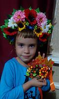 """Кокошник на обруче детский """"Мисс Украиночка"""", фото 1"""