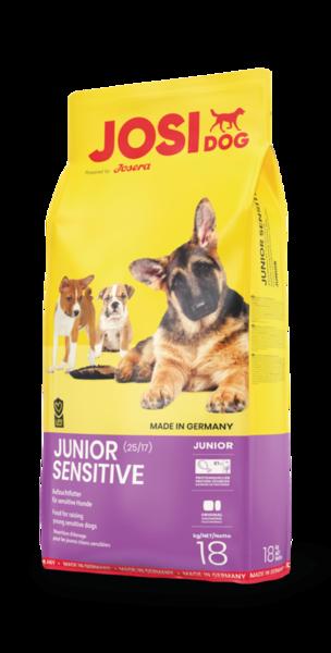Josera JosiDog Junior Sensitive 18 кг- корм для щенков всех пород от 2 месяцев, фото 1