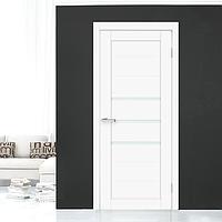 Дверное полотно Cortex Deco 06 Белый Матовый, фото 1