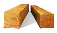 Брус деревянный, сухой, строганный 100х150, д. 4,5-6