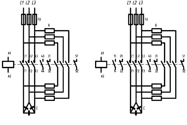 Электрическая схема магнитных пускателей ПМК