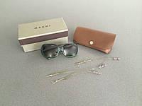 Зеленые солнцезащитные очки Marni