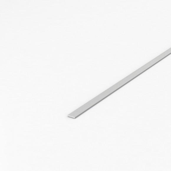 Алюмінієва смуга (шина) шириною 10мм товщиною 2мм без покриття