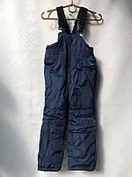 Штаны-комбез детские  для мальчика от 8 до 12 лет,синие