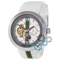 Наручные механические часы (копия) Gucci Pantcaon White-Silver-White