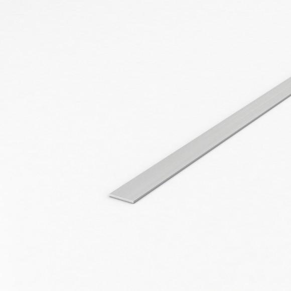 Алюмінієва смуга (шина) шириною 20мм товщиною 2мм без покриття