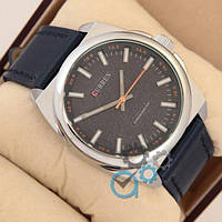 Мужские наручные часы (копия) Curren Classico 8168 Silver\Blue