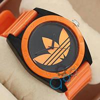 Мужские спортивные часы (копия) Adidas Log 0927 Orange\Black