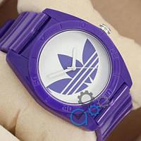 Мужские спортивные часы (копия) Adidas Log 0927 Purple\White
