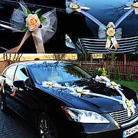 Украшение на свадебный автомобиль (весільні прикраси на машину), украшение машины на свадьбу