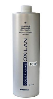 Перекись-эмульсия 3% (10) (для тонировки волос, окрашивания тон в тон, более темные тона) 1000мл Brelil